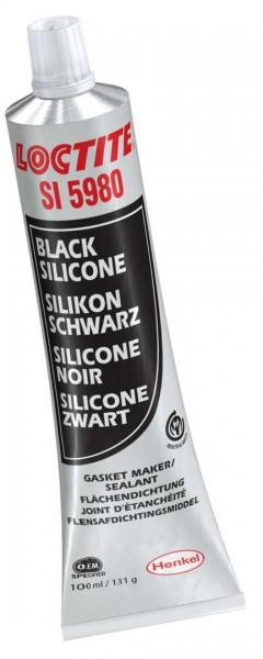 LOCTITE SI 5980, 1K-Silikon, schwarz, 100 ml Tube