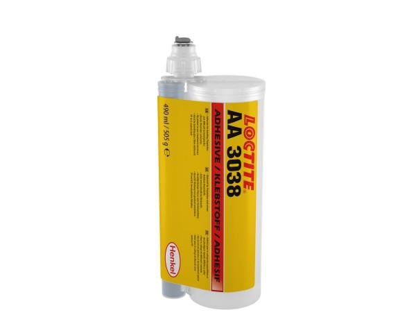 LOCTITE AA 3038, Strukturklebstoff (2K Acrylat), 490 ml Doppelkartusche