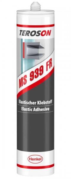 TEROSON MS 939FR, SMP-Klebstoff, schwarz, 290 ml Kartusche