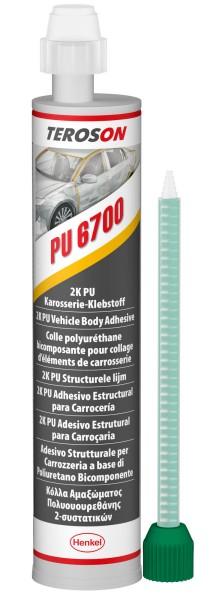 TEROSON PU 6700, 2K-PU-Strukturklebstoff, 250 ml Kartusche