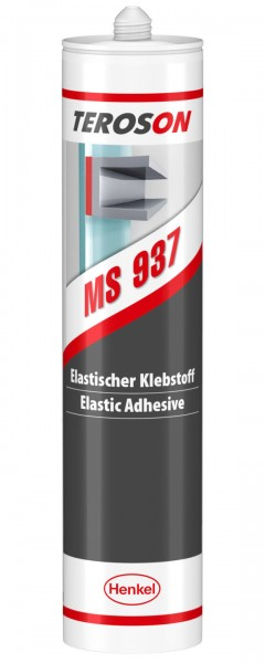TEROSON MS 937, SMP-Klebstoff, grau, 290 ml Kartusche