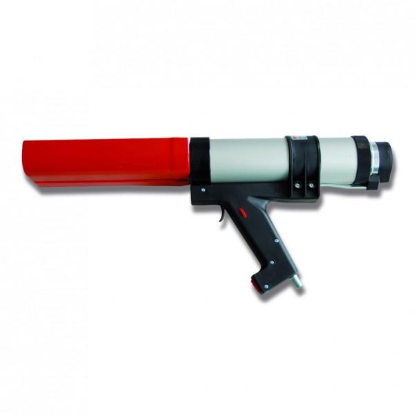 2K-Dosierpistole (pneumatisch) für 2 x 310 ml PU-Kartuschen