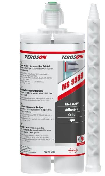 TEROSON MS 9399, SMP-Klebstoff, grau, 400 ml Doppelkartusche