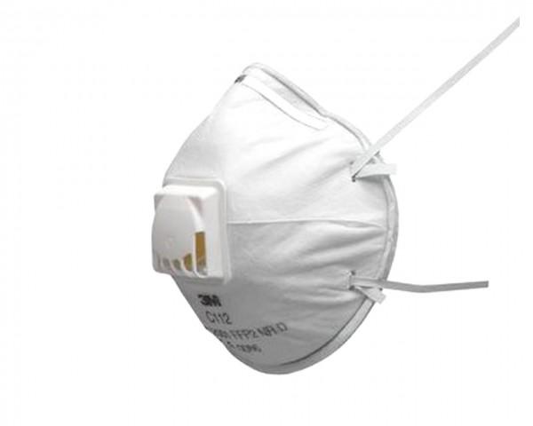 3M™ Einweg-Atemschutzmaske, FFP2, mit Ventil, C112