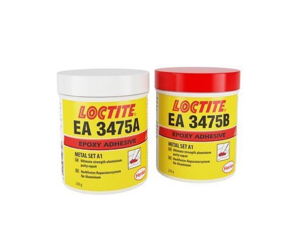 LOCTITE EA 3475 2K-Epoxidklebstoff, aluminiumgefüllt, 500 g Dose