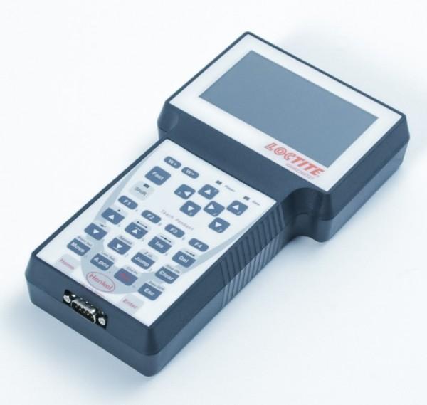 Programmierhandgerät für die LOCTITE EQ RB40 Tischroboter.