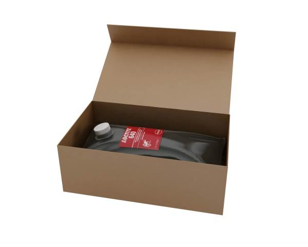 LOCTITE 640, Anaerober Fügeklebstoff, 2 l Beutel im Karton