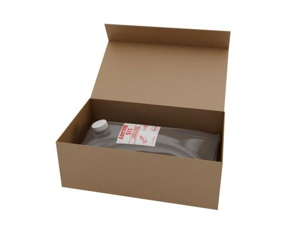 LOCTITE 511, Anaerobe Gewindedichtung, 2 l Beutel im Karton