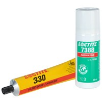 LOCTITE AA 330, Strukturklebstoff (Acrylat), 50 ml Set