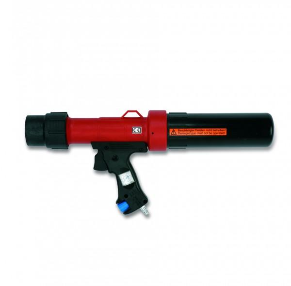 1K-Dosierpistole (pneumatisch) für 300/310ml Kartuschen + 400ml Folienbeutel