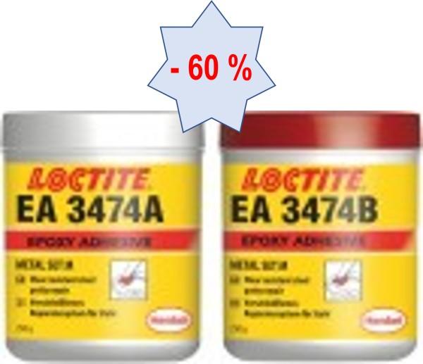 LOCTITE EA 3474, 2K-Epoxidklebstoff, selbstschmierend, 500 g
