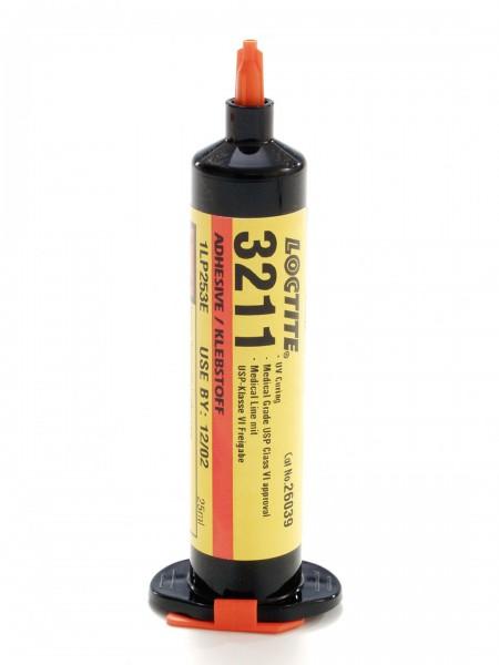 LOCTITE AA 3211, UV-härtender Acrylatklebstoff, 25 ml Spritze