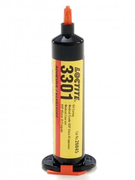 LOCTITE AA 3301, UV-härtender Sofortklebstoff auf Acrylatbasis, 25 ml Flasche