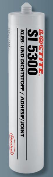 LOCTITE SI 5300, 1K-Hochtemperatur-Silikon, rot, 310 ml Kartusche (Nachfolger Loctite SI 5399)