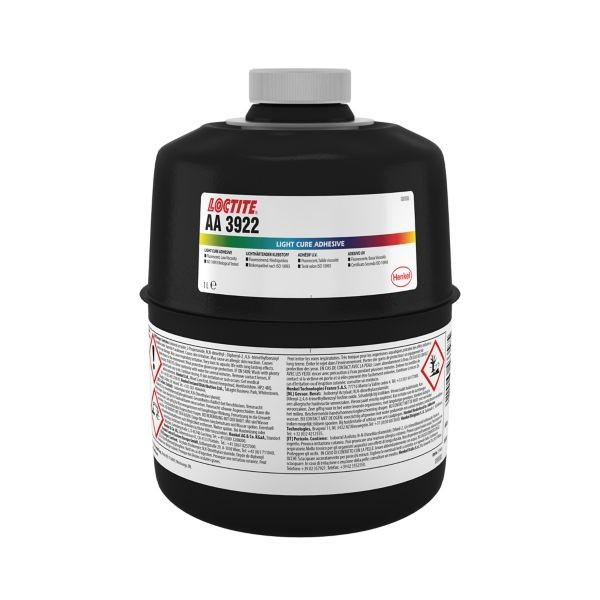 LOCTITE AA 3922, Strukturklebstoff (2K Acrylat), 1 l Flasche