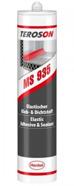 TEROSON MS 935, SMP-Klebstoff, schwarz, 290 ml Kartusche