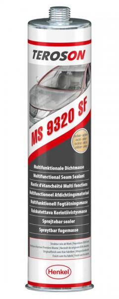 TEROSON MS 9320, SMP-Klebstoff, ocker, 300 ml Kartusche