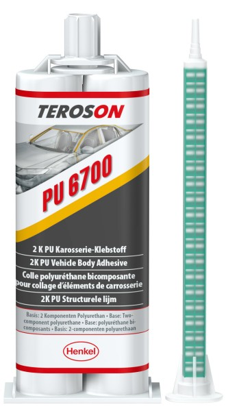 TEROSON PU 6700, 2K-PU-Strukturklebstoff, 50 ml Doppelkartusche
