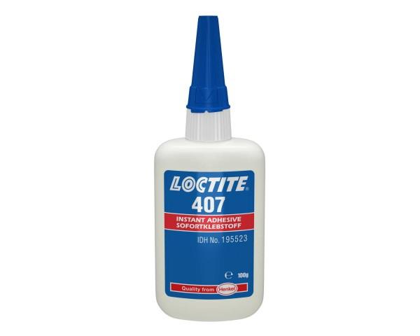 LOCTITE 407, Sofortklebstoff, 100 g Flasche