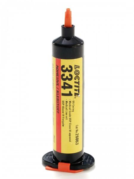 LOCTITE AA 3341, UV-härtender Sofortklebstoff auf Acrylatbasis, 25 ml Spritze