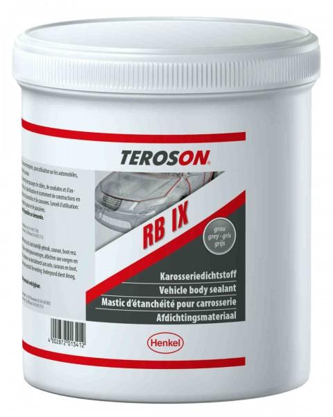 TEROSON RB IX, Butyl Kleb- und Dichtstoff, hellgrau, 1 kg