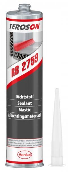 TEROSON RB 2759, 1K-Butyl-Dichtstoff, grau, 310 ml Kartusche