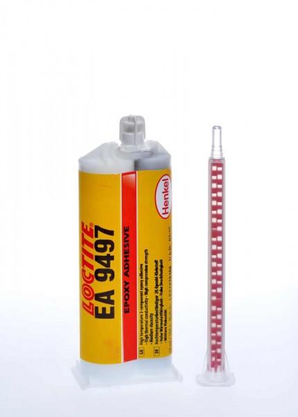 LOCTITE EA 9497 Strukturklebstoff (2K Epoxy), 50 ml Doppelkartusche