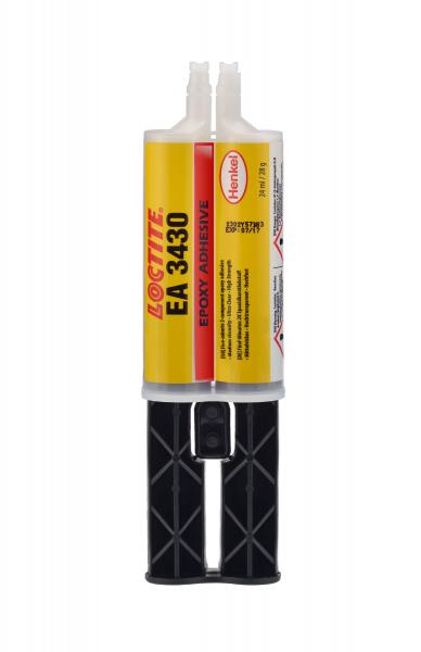 LOCTITE EA 3430 Strukturklebstoff (2K Epoxy), 24 ml Doppelkartusche im Blister