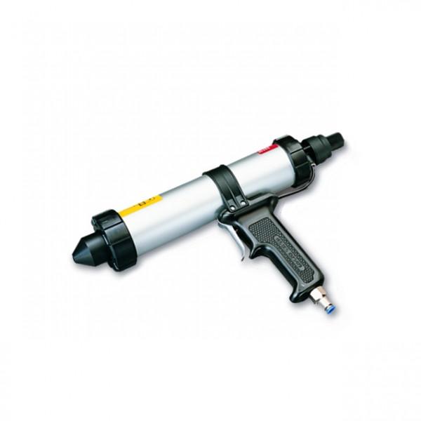 1K-Dosierpistole (pneumatisch) für 300-ml-Kartuschen und 250ml Tuben