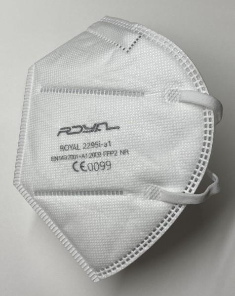 Einweg-Atemschutz-Halbmaske, FFP2, gefaltet, ohne Ventil, mit Nasenbügel