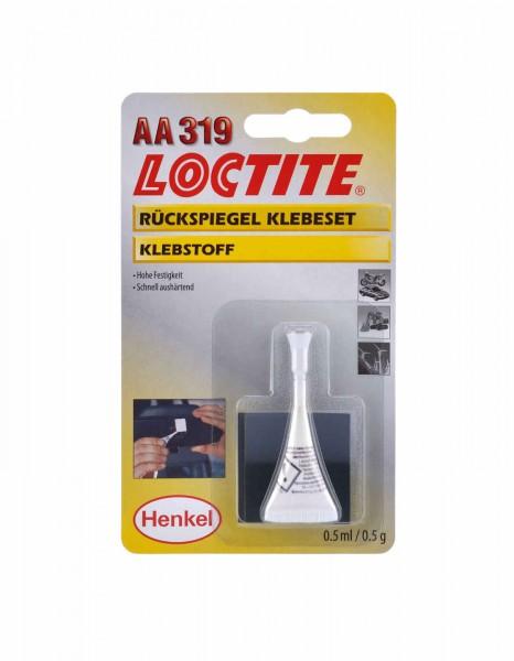 LOCTITE AA 319, Stukturklebstoff - Glass-Metall Klebeset, 0,5 ml Set