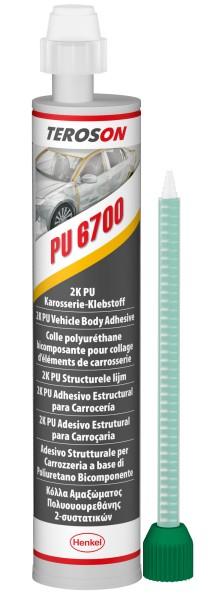 TEROSON PU 6700 B, 2K-PU-Strukturklebstoff, 310 ml Kartusche