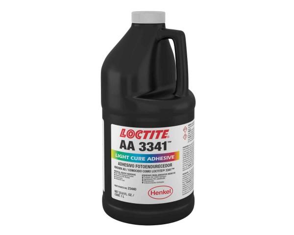 LOCTITE AA 3341, UV-härtender Sofortklebstoff auf Acrylatbasis, 1 l Flasche