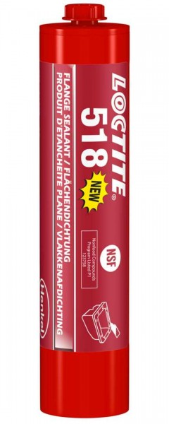 LOCTITE 518, Anaerobe Flächendichtung, 300 ml Kartusche