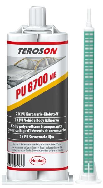 TEROSON PU 6700 ME, 2K-PU-Strukturklebstoff, 50 ml Doppelkartusche