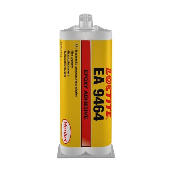 LOCTITE EA 9464 Strukturklebstoff (2K Epoxy), 400 ml Doppelkartusche