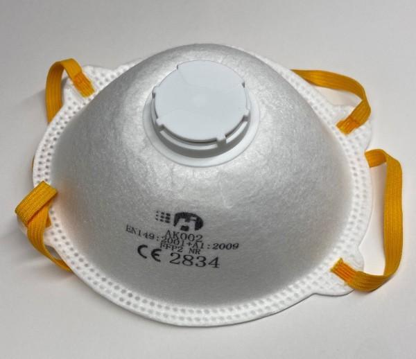 Einweg-Atemschutzmaske, FFP2, mit Ventil, C112